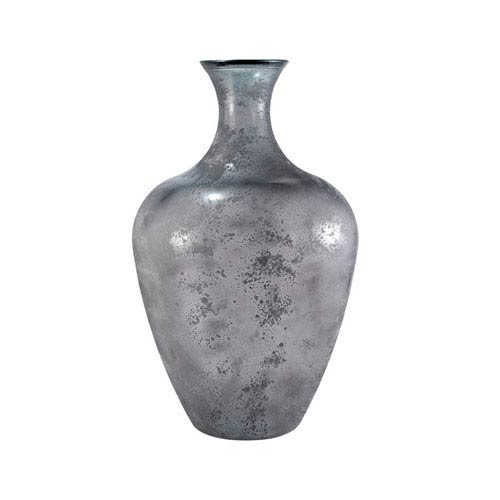 Chloe Textured Gray Vase
