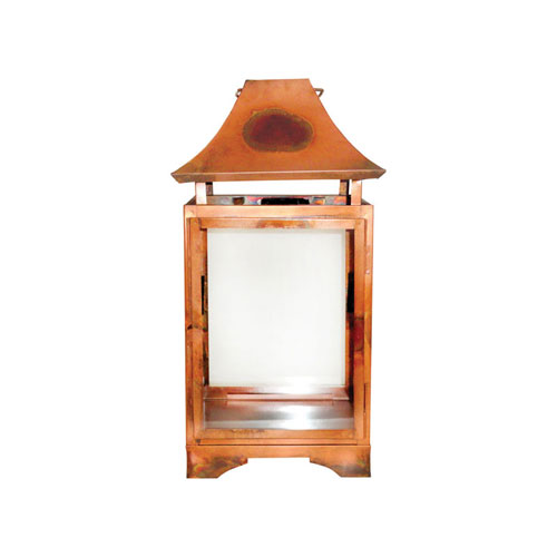 Bali Burned Copper Twenty-Inch Lantern
