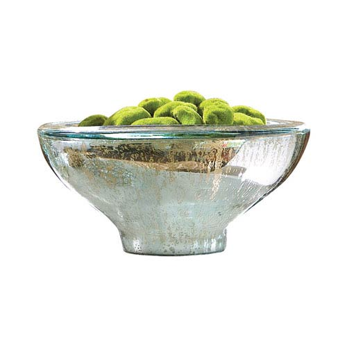 Aria Antique Silver Bowl