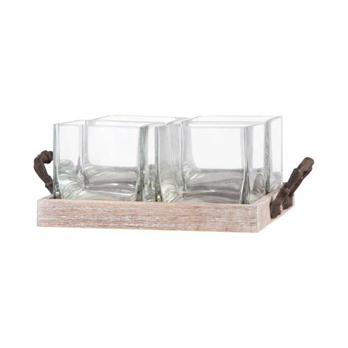 Pomeroy Campagne Rustic and Ashwood Tray