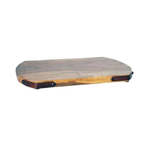 Telluride Montana Rustic and Mango Wood Twelve-Inch Tray