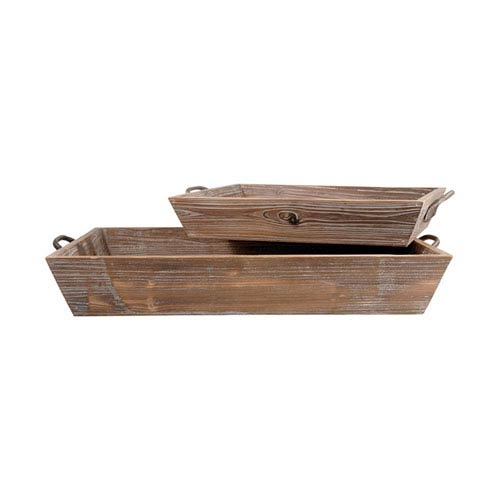 Americana Antique Paliona and Canyon Rustic Tray