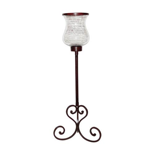 Deseo Montana Rustic Forty-Inch Candle Holder