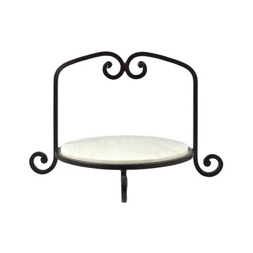 Classique Rustic and Marble Round Tray