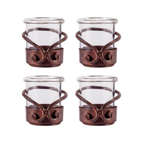 Pomeroy Lasso Montana Rustic Three-Inch Candle Holder