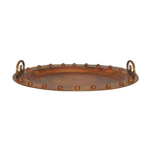 Pomeroy Misson Burned Copper Tray