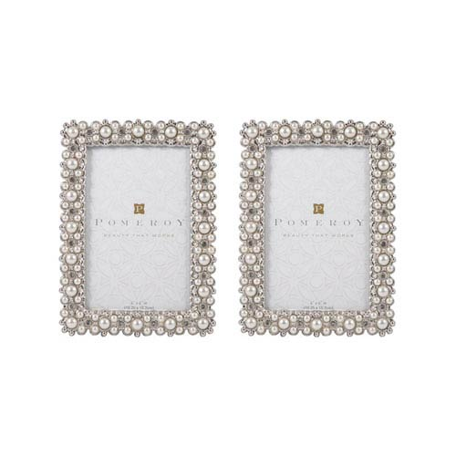 Lannister Silver and Pearls Frame
