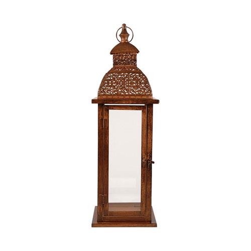Vineyard Antique Brown Lantern