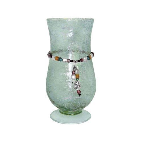 Pasha Azure 13-Inch Candle Holder