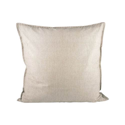 Chambray Chateau Grey Throw Pillow
