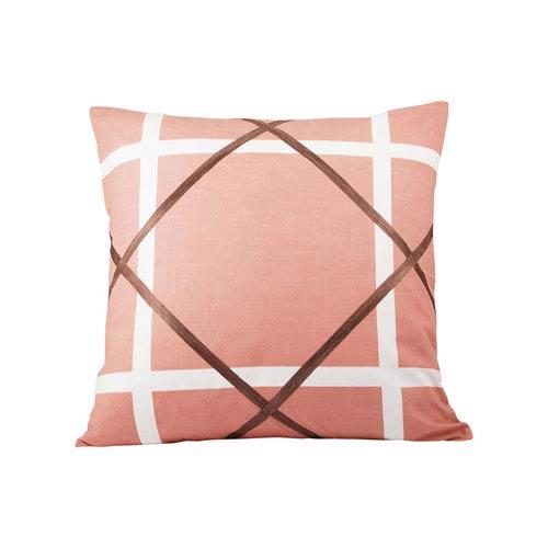Gemma Mauve Throw Pillow