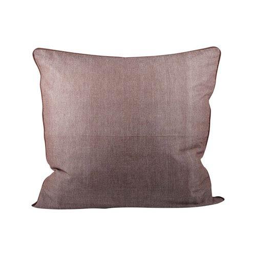 Chambray Earth Throw Pillow