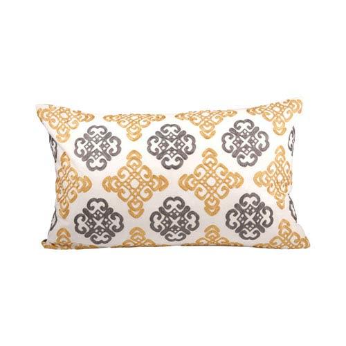 Corely Dijon and Chateau Graye Throw Pillow