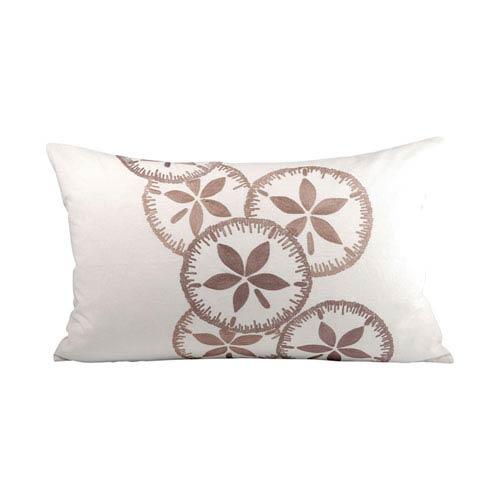 Bayside Crema and Smoked Pearl Throw Pillow