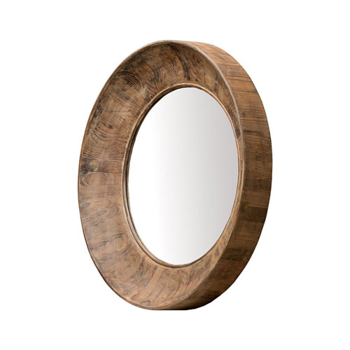 Prentice Aged Cedar Mirror