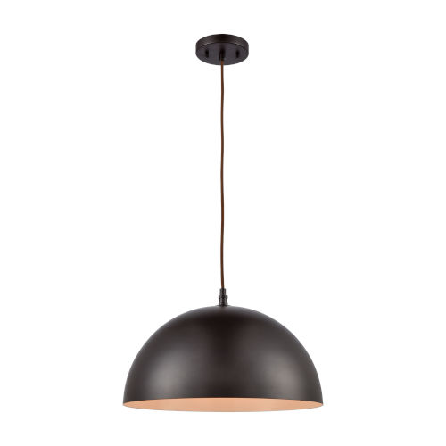 Chelsea Brown Oil Rubbed Bronze 16-Inch One-Light Pendant