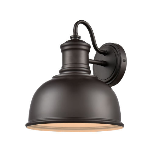 Cedar Park Brown Oil Rubbed Bronze 10-Inch One-Light Outdoor Wall Sconce
