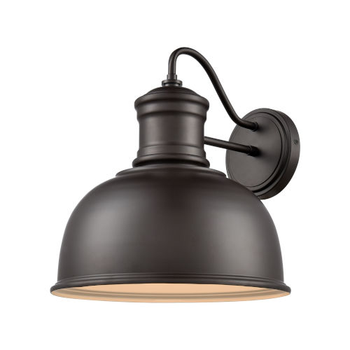 Cedar Park Brown Oil Rubbed Bronze 13-Inch One-Light Outdoor Wall Sconce