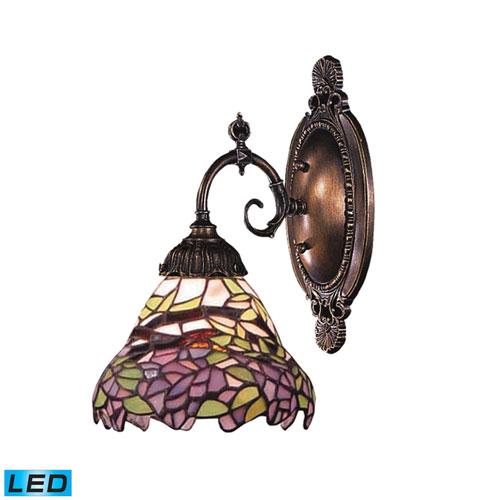 Elk Lighting Mix-N-Match Tiffany Bronze LED One Light Wall Sconce