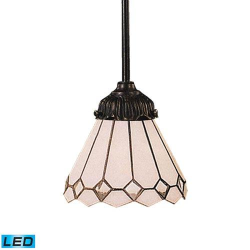 Elk Lighting Mix-N-Match Tiffany Bronze Dimming LED One Light Mini Pendant