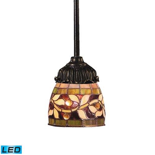 Elk Lighting Mix-N-Match Tiffany Bronze 3-Inch Dimming LED One Light Mini Pendant