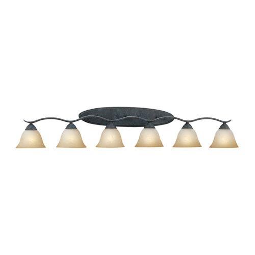 Prestige Sable Bronze Six-Light Wall Sconce