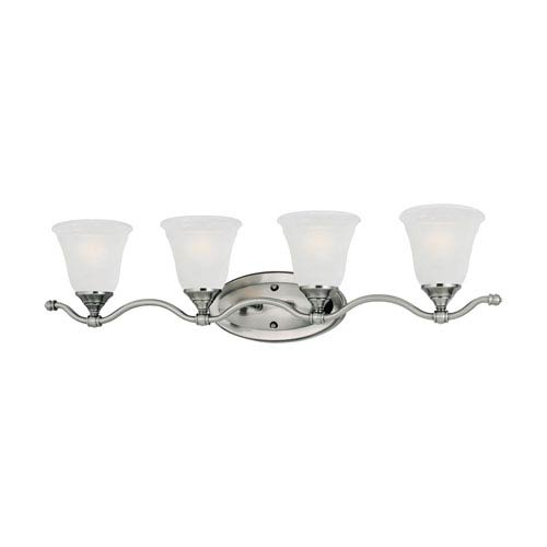 Harmony Satin Pewter Four-Light Wall Sconce