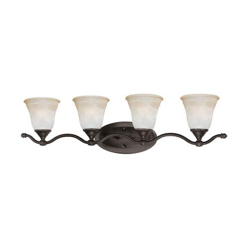 Harmony Aged Bronze Four-Light Wall Sconce