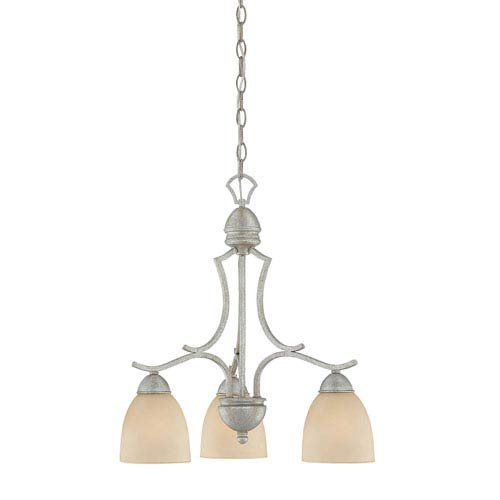 Thomas Lighting Triton Moonlight Silver Three-Light Chandelier