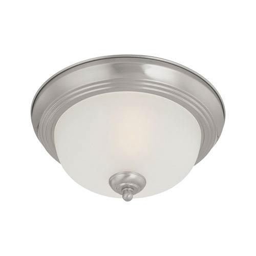 Thomas Lighting Pendenza Brushed Nickel Two-Light Flush Mount