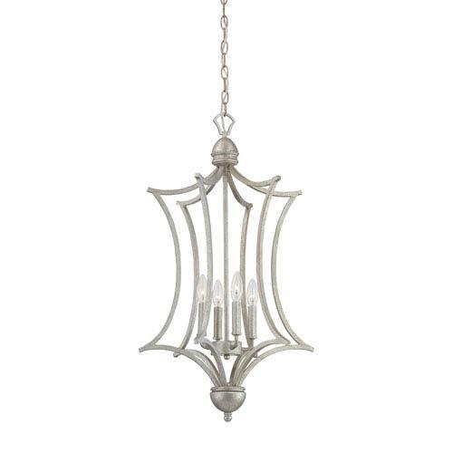Triton Moonlight Silver Four-Light Pendant