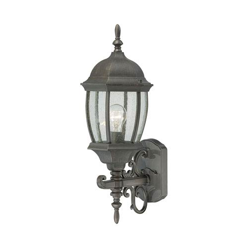 Thomas Lighting Covington Painted Bronze 22-Inch Outdoor Wall Sconce