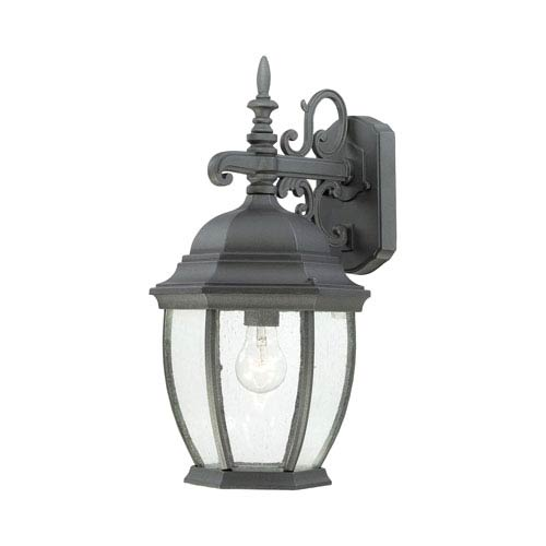 Covington Black 18-Inch Outdoor Wall Sconce