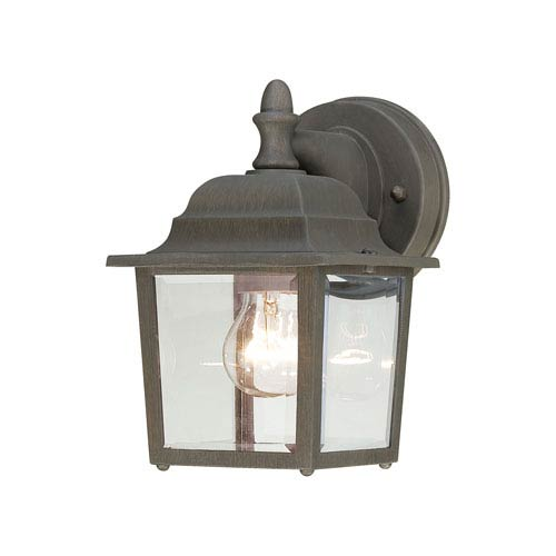 Hawthorne Painted Bronze Nine-Inch Outdoor Wall Sconce