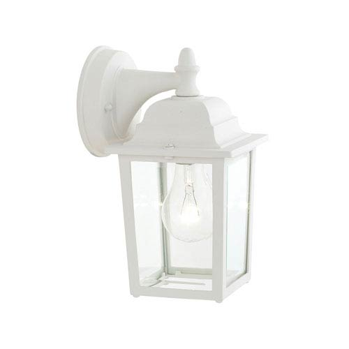 Hawthorne Matte White 10-Inch Outdoor Wall Sconce