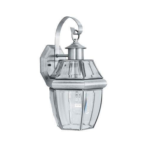 Heritage Brushed Nickel Outdoor Wall Sconce