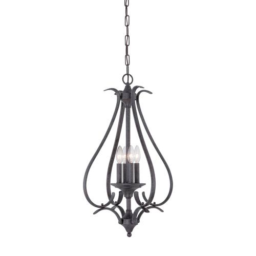 Prestige Sable Bronze Four-Light Pendant