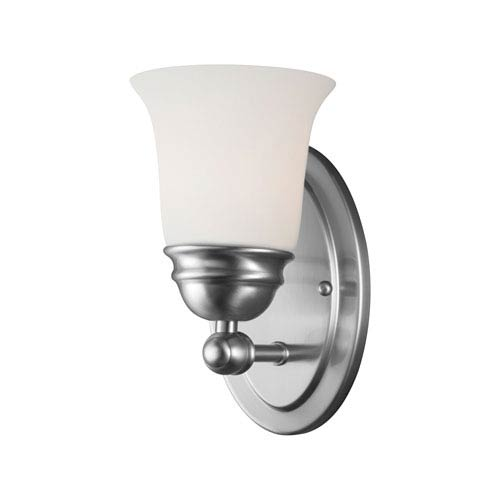 Bella Brushed Nickel Wall Sconce