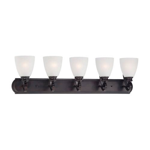 Haven Espresso Five-Light Wall Sconce
