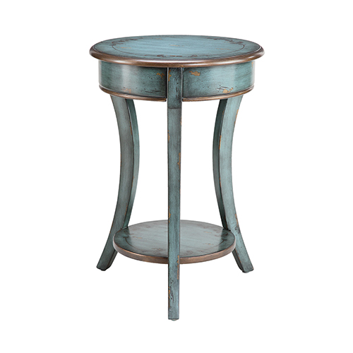 Freya Bronze Accent Table