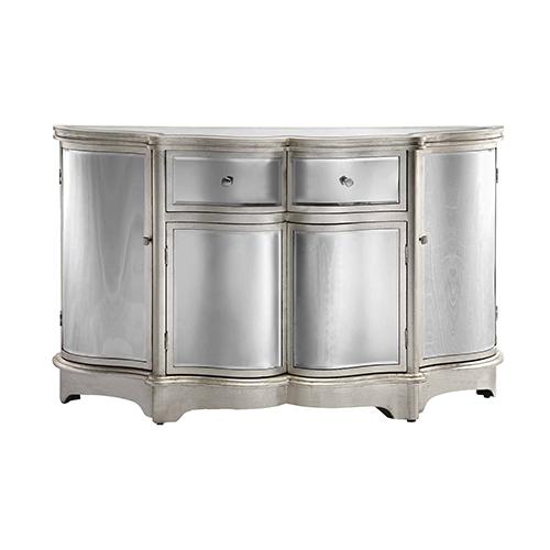 Stein World Rosalind Silver Leaf Cabinet