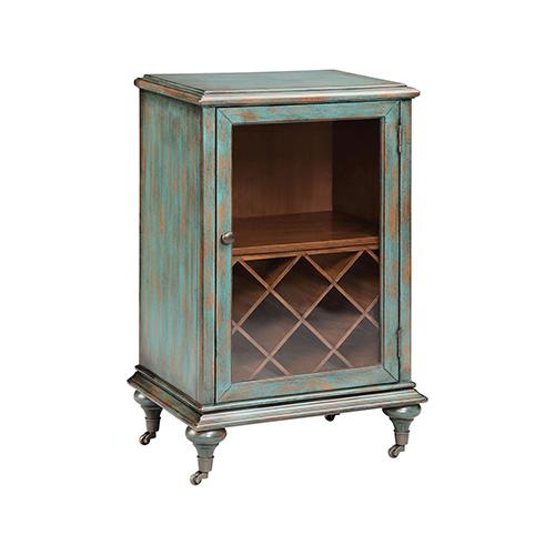Stein World Gemma Turquoise Cabinet