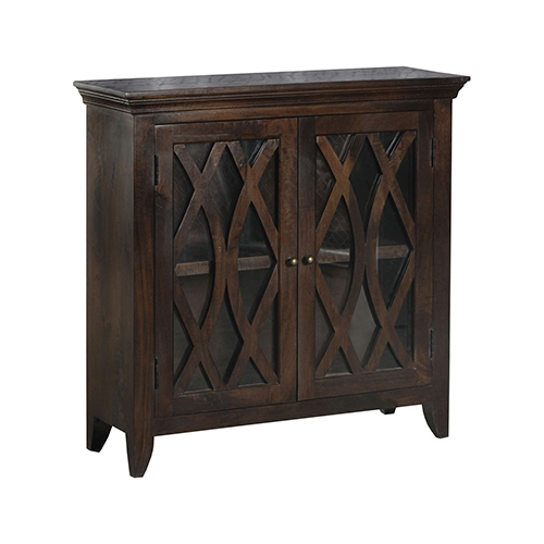 Maho Burnished Brown Cabinet
