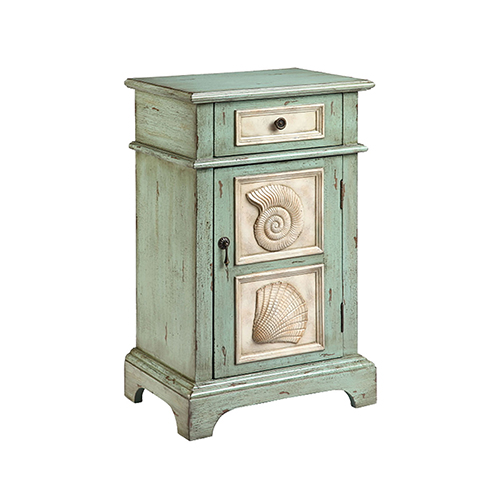 Hastings Green and Cream Accent Table