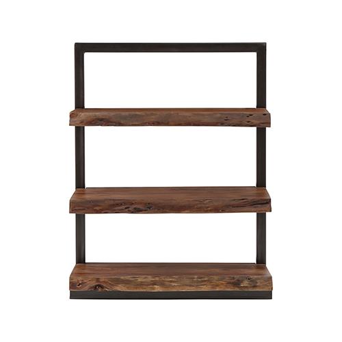 Stein World Climber Black and Wood Shelf