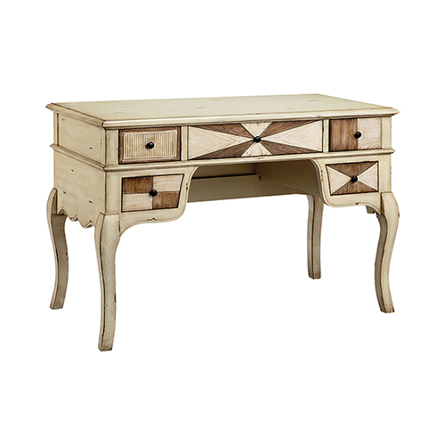 Amanda Hand-Painted Brown Desk