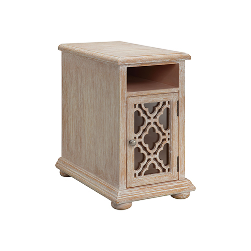 Batanica White Side Table