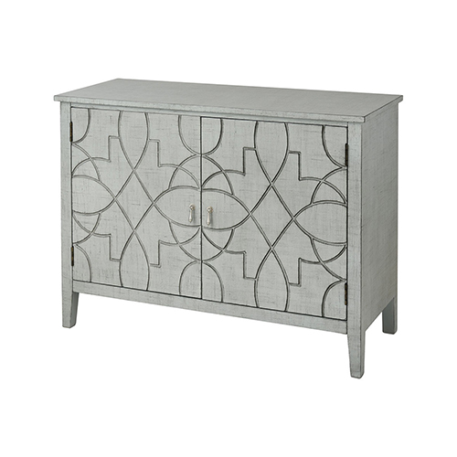 Markel Grey Linen Cabinet