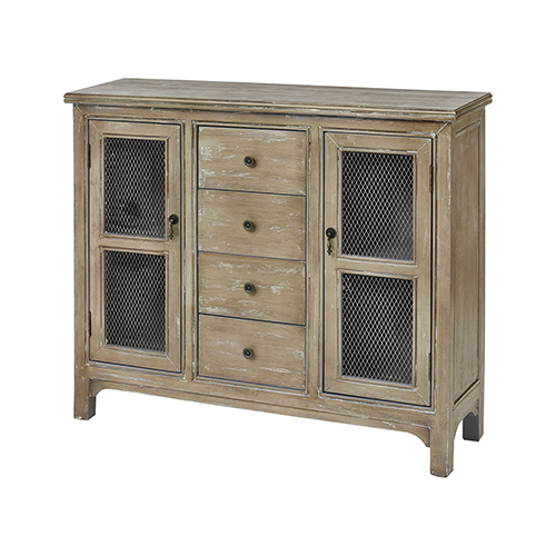 Rossen Antique Buttermilk Cabinet