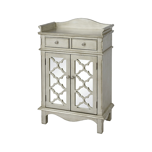 Mavity Antique Silver Cabinet